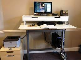 office desk standing height desk standing desk height standing desk ergonomics standing computer workstation stand