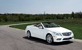 2011 Mercedes-Benz E550 Cabriolet – Instrumented Test – Car and Driver