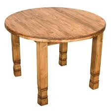high tables small short round julio mexican rustic pine bistro table