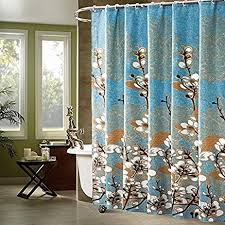 fabric shower curtains lovely interior 45 elegant blue and grey shower curtain ideas blue and
