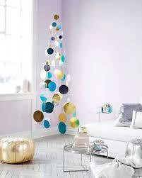Metallic Foil Paillette Tree Mobile. Modern Christmas ...