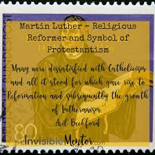 Martin Luther Religious Reformer And Symbol Of Protestantism The
