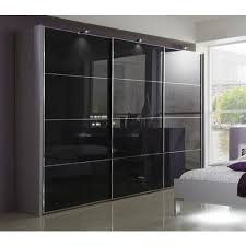 ma black glass wardrobe rs 1500