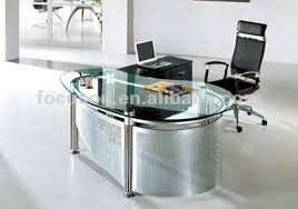 glass top office table. Innovative Fks Hd Ed Modern Glass Top Office Desk Buy Inside Table