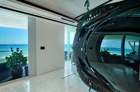 Interior Design Apartment Custom Exclusive Apartment Features A Rare Pagani Zonda R As A Room Divider