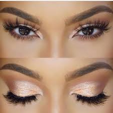 simple eye makeup. this simple yet glamours eye! i feel like could create it with my melon eye makeup