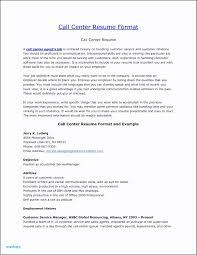 Cover Letter For Customer Service Manager Position Call Center Resume Objective Awesome Call Center Resume Examples