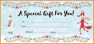 Make Your Own Gift Certificate Templates Free Create Your Own Gift Voucher Free Gift Ideas