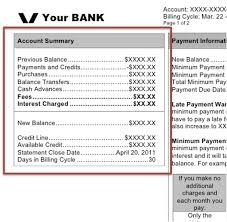 Minimum Credit Card Payment Monthly Credit Card Statement Walkthrough