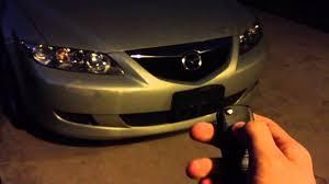 Mazda 6 2003 2004 2005 switchblade key - YouTube