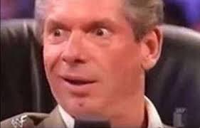 Винс Макмэн, Vince McMahon, удивленный мужчина - Memepedia