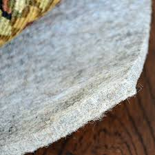 fiber touch 3 8 thick felt rug pad rectangles eco friendly