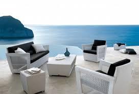 innovative modern white outdoor furniture outdoor white wicker furniture nice