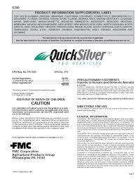 Rainfast Herbicide Chart Label Fmc Professional Solutions