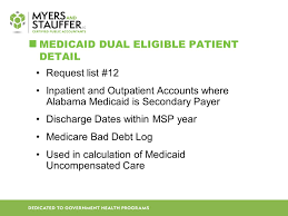 Alabama Medicaid Eligibility Income Chart Disproportionate Share Hospital Dsh Reporting Schedule