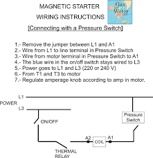 wiring diagram for single phase magnetic starter wiring new magnetic motor starter control for electric motor compressor on wiring diagram for single phase magnetic
