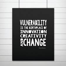 vulnerability brene brown inspirational quote printable wall art print after purchasing you will receive on brene brown wall art with vulnerability brene brown inspirational quote printable wall art