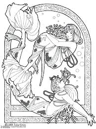 art nouveau coloring book art coloring pages art nouveau colouring book