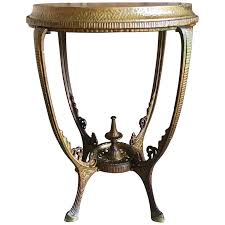 antique metal side table antique metal side table for small metal side table vintage round