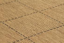 anti slip checked flatweave natural runners