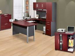 choose home office. image of red contemporary home office furniture choose