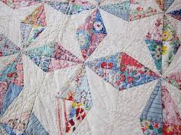 106 best Feedsack Quilts images on Pinterest   Abstract, Appliques ... & Antique cutter quilt 1930s feedsack Water Wheel Adamdwight.com