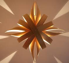 star shaped lighting. star shaped pendant lighting of cedar wood
