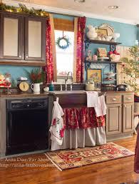 Christmas Kitchen Far Above Rubies Merry Christmas Farmhouse Kitchen
