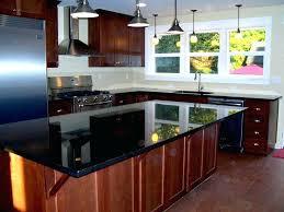 black quartz countertops vanilla pictures