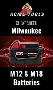 Milwaukee M12 Vs M18 Batteries Battery Tools Tools