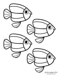 Discover our coloring pages of fishes to print and color for free ! Top 100 Fish Coloring Pages Cute Free Printables Coloring Page Print Color Fun