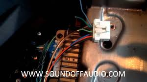 chevy silverado amp bypass youtube 2007 Chevy Suburban Stereo Wiring Diagram at 2009 Chevy Suburban Stereo Harness Cut Need Wiring Diagram