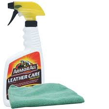 armor all leather care protectant 16oz microfiber cloth kit