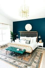 blue and green bedroom converting simple rooms to modern bohemian styles painted walls living room ideas navy