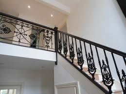 Wrought iron stair railing Wood Outdoor Wrought Iron Stair Railing Design Home Interior Designs Outdoor Wrought Iron Stair Railing Design Tuckr Box Decors Best