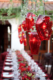 red and white table decorations. Red And White Outdoor Table Decoration: Source Decorations