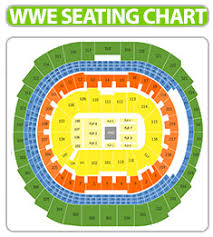 Wwe Wrestlemania 34 Seating Chart Symbolic Wwe Chart Air Canada Seating View Wwe Smackdown