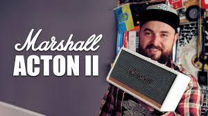 Обзор <b>Marshall Acton</b> II – самая компактная из колонок Marshall ...
