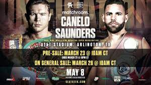 Possible fighters and first us main event. Canelo Alvarez S Next Fight Date Time Price Odds Full Card For Canelo Vs Billy Joe Saunders Dazn News Us