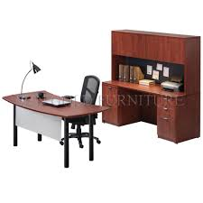 office side table. Wooden Office Desk Set Curved With Side Table Bookcase (SZ-ODT614) O