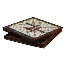 Wooden Board Games Canada Buy Scrabble Deluxe Wooden Edition From Canada At Wellca Free 35