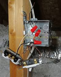 how to wire an attic electrical outlet and light junction box wiring attic light and outlet junction box wiring connections