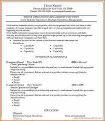Contemporary Ideas Microsoft Word 2007 Resume Template Resume