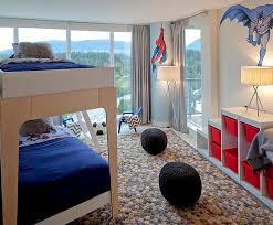 view in gallery tripod floor lamp complemented by the stylish tripod table lamp in the kids bedroom