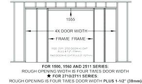 Double Pocket Door Sizes Hikayeler Co