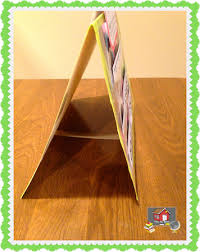 How To Make A Pocket Chart Stand Make Your Own Table Top Pocket Chart