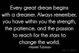 Great Dream Quotes Best of Every Great Dream Begins With A Dreamer Always Remember You Have