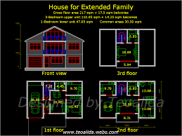 house for 3 generation family with granny flat