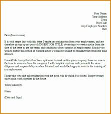 good letter of resignation 6 sample letter resignation besttemplates besttemplates