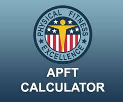 Apft Calculator Body Fat Army Physical Fitness Test